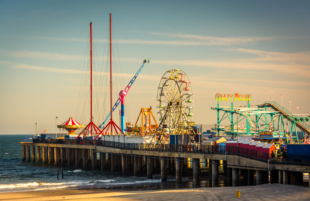 The Steel Pier at Atlantic City, New Jersey.-1